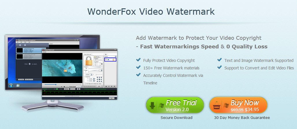 WonderFox Video Watermark