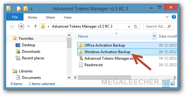 Microsoft activation files