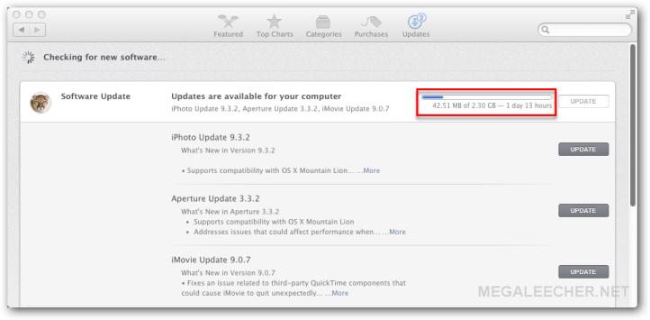 MAC Appstore updates