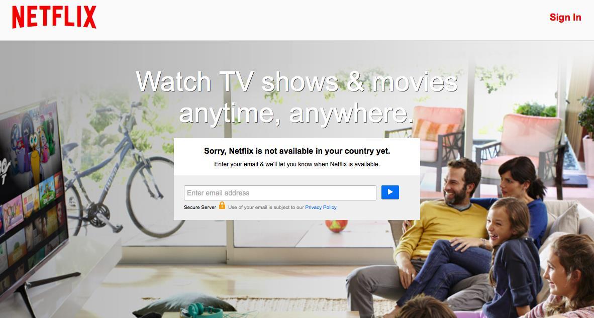 Netflix Unblocker