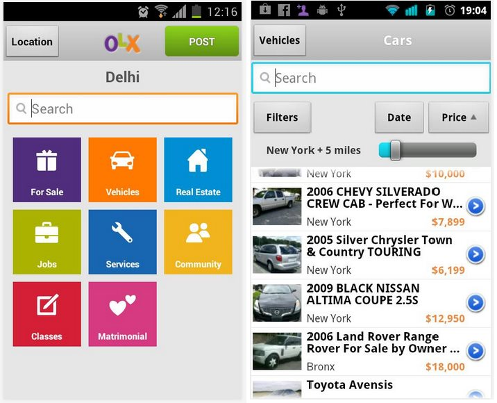 OLX Classified Mobile Apps | Megaleecher Net