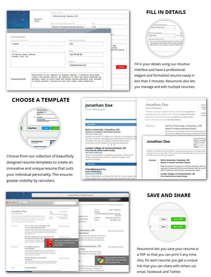 online CV maker