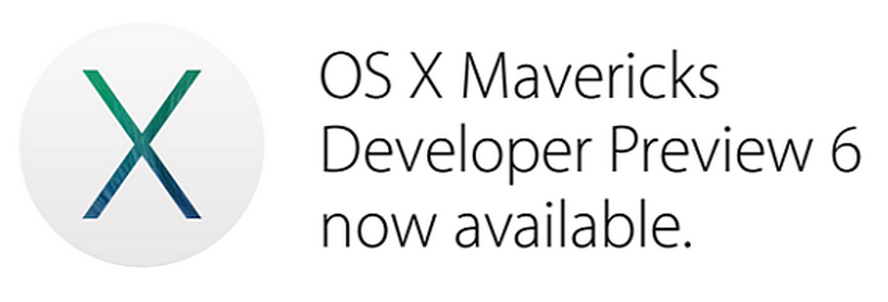 OS X Mavericks Developer Preview 6