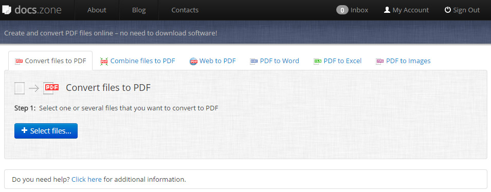 The Online PDF File Converter