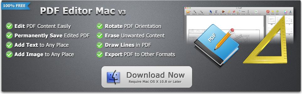 Free PDF Editor Mac