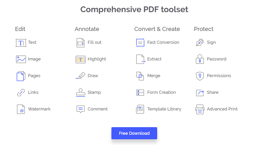 All PDF Features