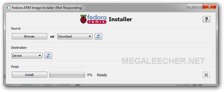 pidora Fedora Remix Installer For ARM