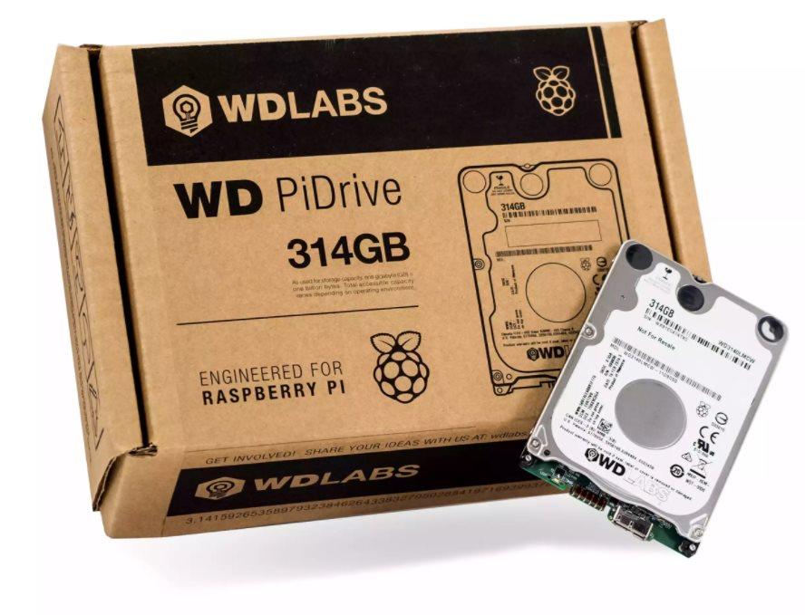 Western Digital PiDrive