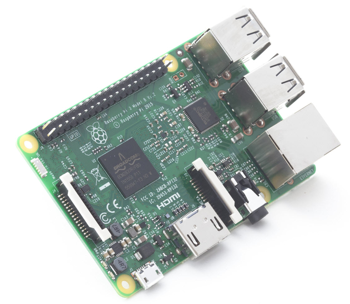 The Raspberry Pi 3 Model B