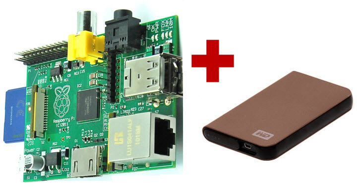 RPI and external HDD