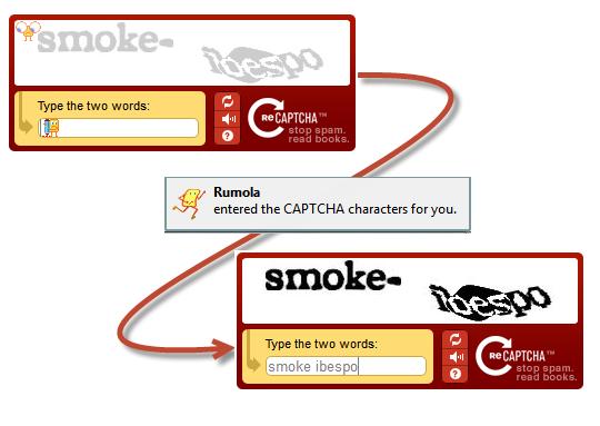 Rumola CAPTCHA Bypass
