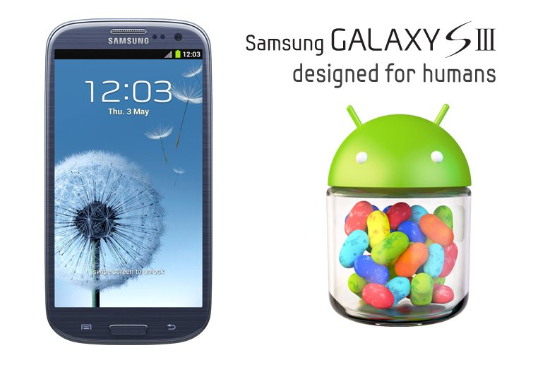 Galaxy SIII and Android Jelly Bean