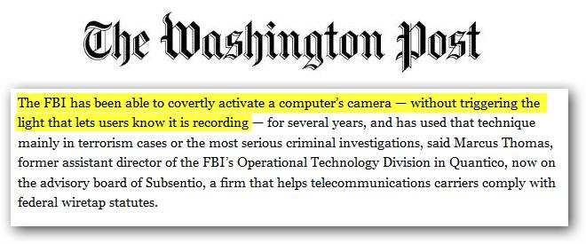 FBI Camera Spying