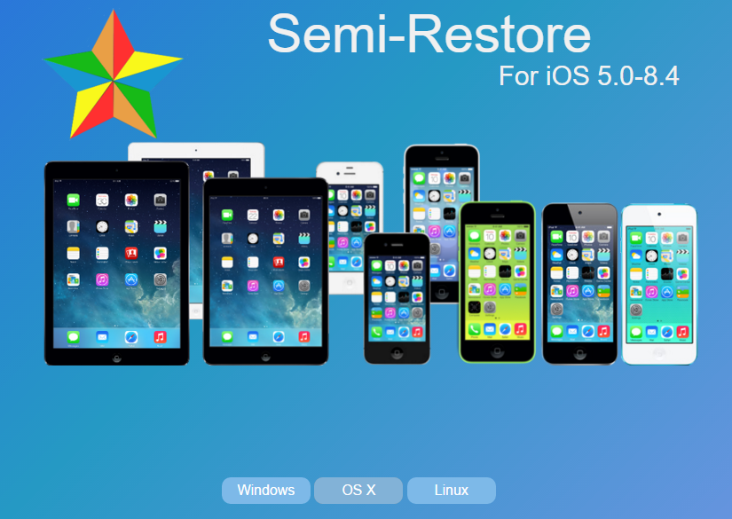Semi Restore Jailborken iPhone