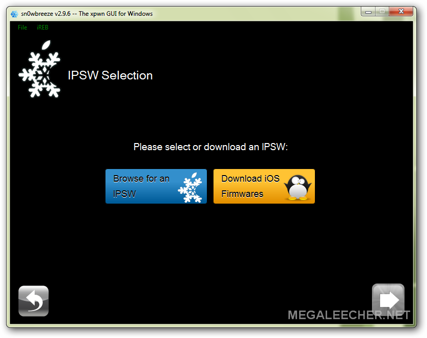How to create an customized signed IPSW firmware using Sn0wbreeze