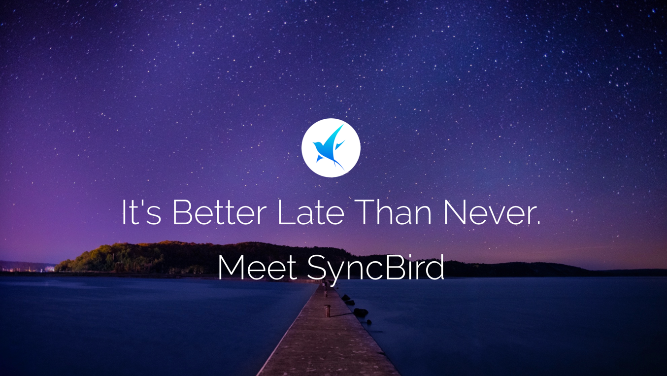 Syncbird iTunes Alternative