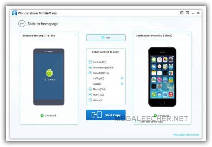 TIA Phone Transfer Step 2