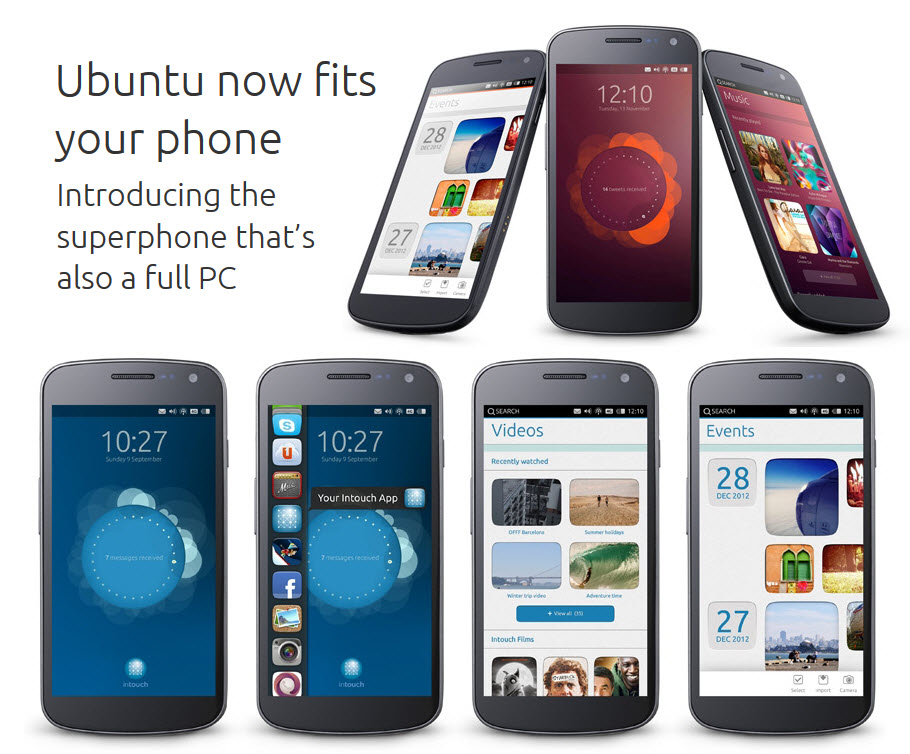 Ubuntu Mobile OS Announced, Android Compatible OS Coming ...
