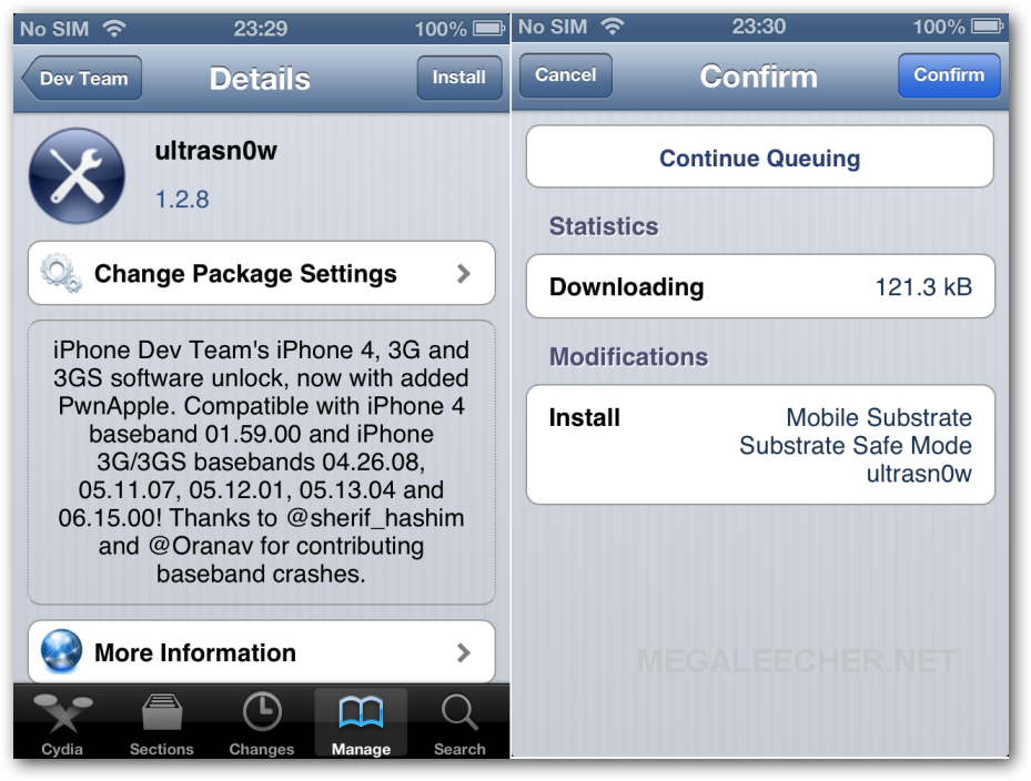 ultrasn0w 1.2.8 for iOS 6.1