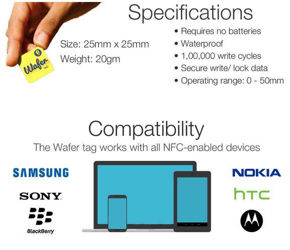 NFC Wafer