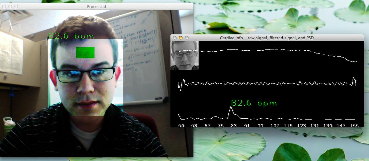 webcam-pulse-detector