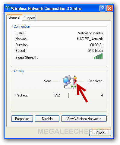 windows xp unable to connect to this network
