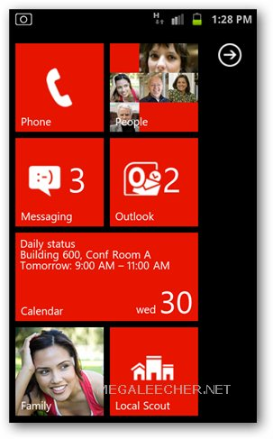 Windows Phone 7.5 Mango Metro UI