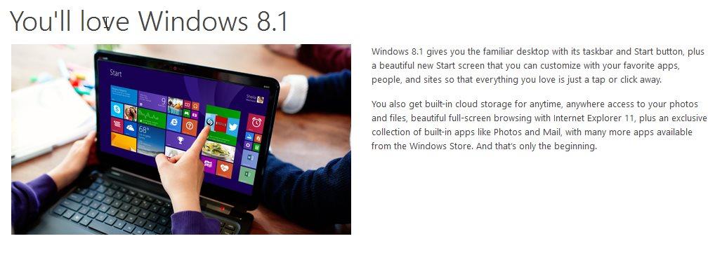 Microsoft windows 8 megaleecher windows store upgrade sciox Choice Image