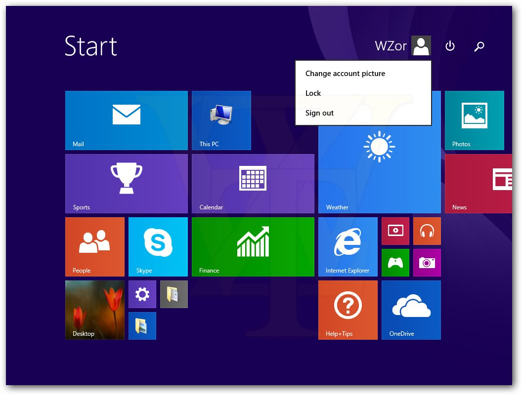 Windows 8.1 Keyboard and Mouse Friendly Features