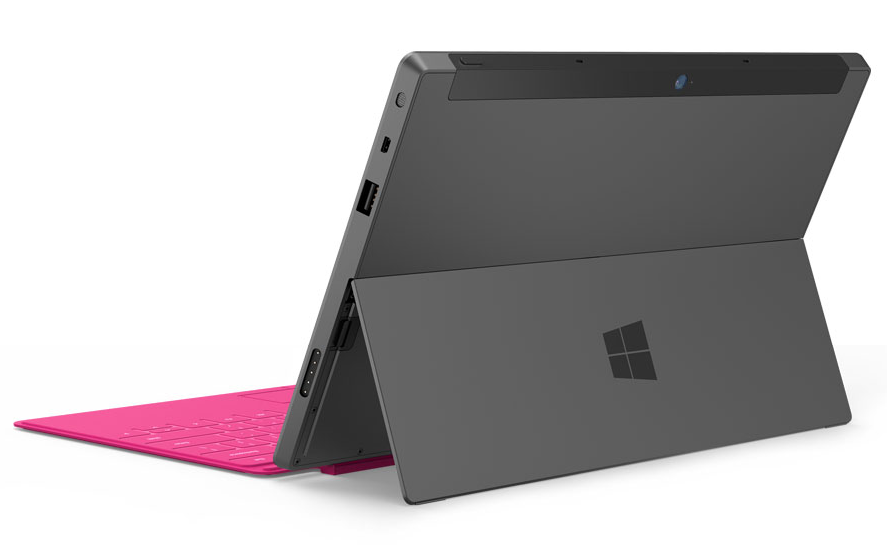 Microsoft Surface Back View