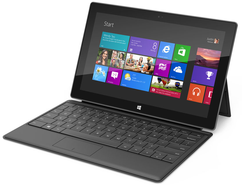 Microsoft Surface Front view
