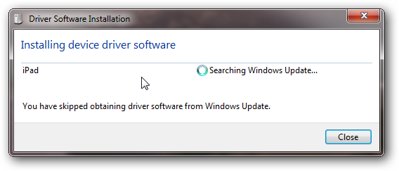 Windows driver