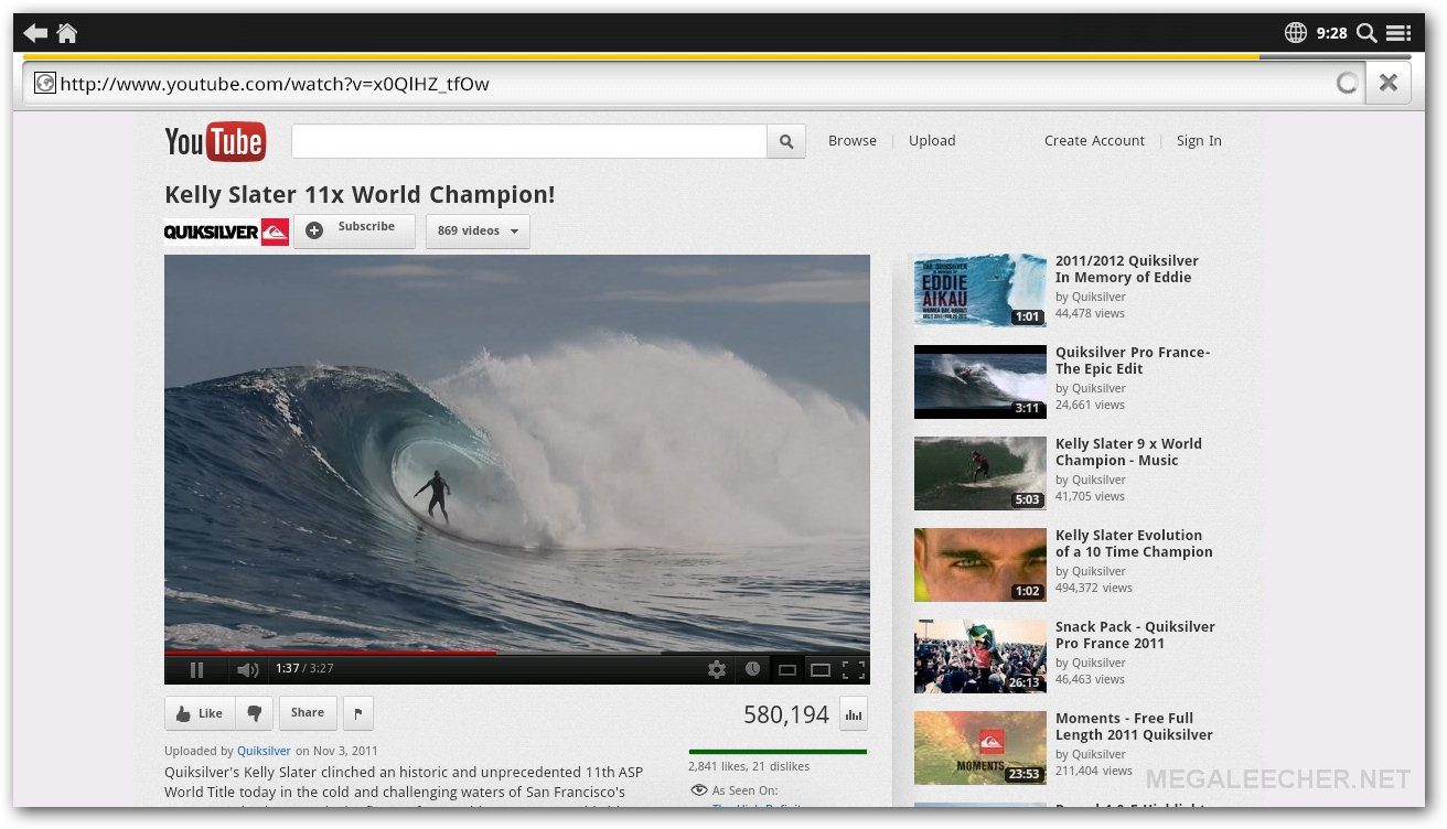 Youtube on APC Mini PC