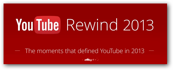 Youtube Rewind 2013