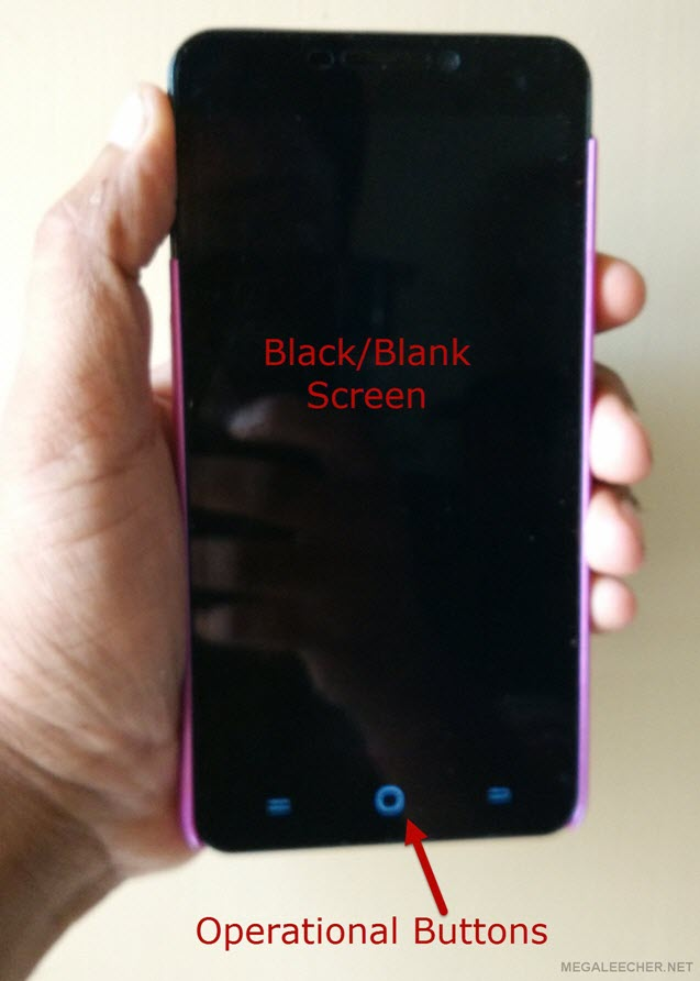 Yu Yureka Blank Screen Problem