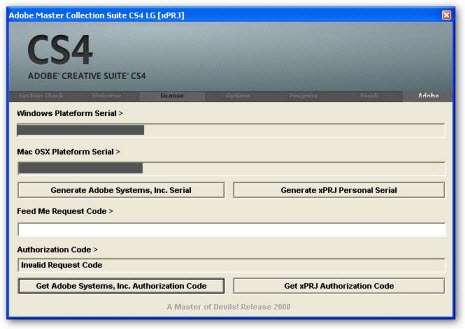 adobe cs3 keygen authorization code