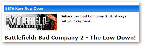 Battlefield: Bad Company 2 PC Multi-player Key