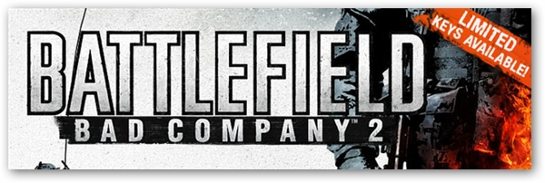 Free Battlefield Bad Company 2 PC Beta Keys