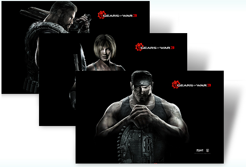 Download Gears Of War 3 Windows 7 Theme