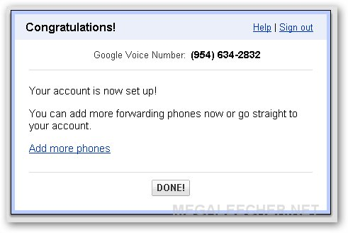 Google account Activated Successfully