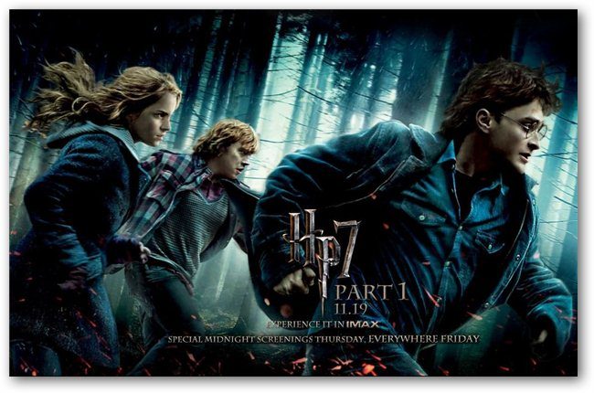 Harry Potter And The Deathly Hallows Film. Harry Potter and Deathly