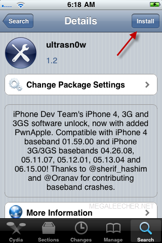 ultrasn0w unlock for iPhone 3G