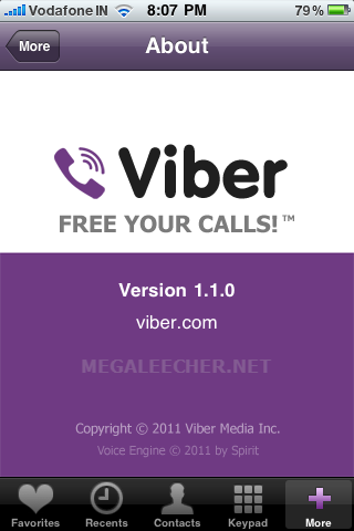 Viber On iOS
