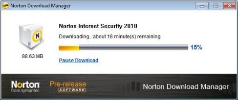 Norton Internet Security 2010 And Norton AntiVirus 2010 Beta