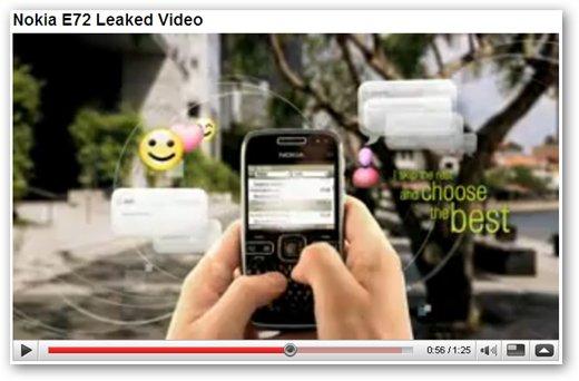 Nokia E72 Video Review