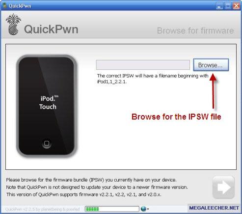 Browser IPSW