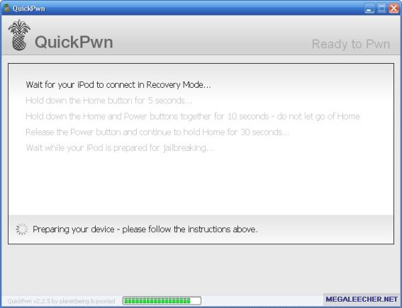 QuickPWN Process