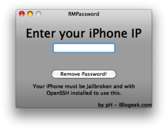 iPhone Passcode Removal