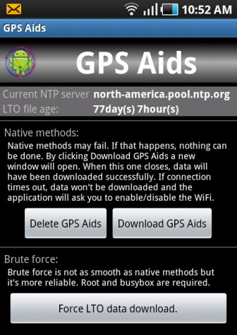 GPS Aid For Samsung Galaxy