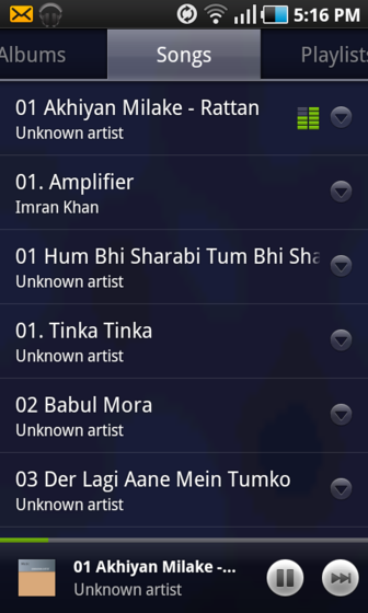 Google Music Player For Android